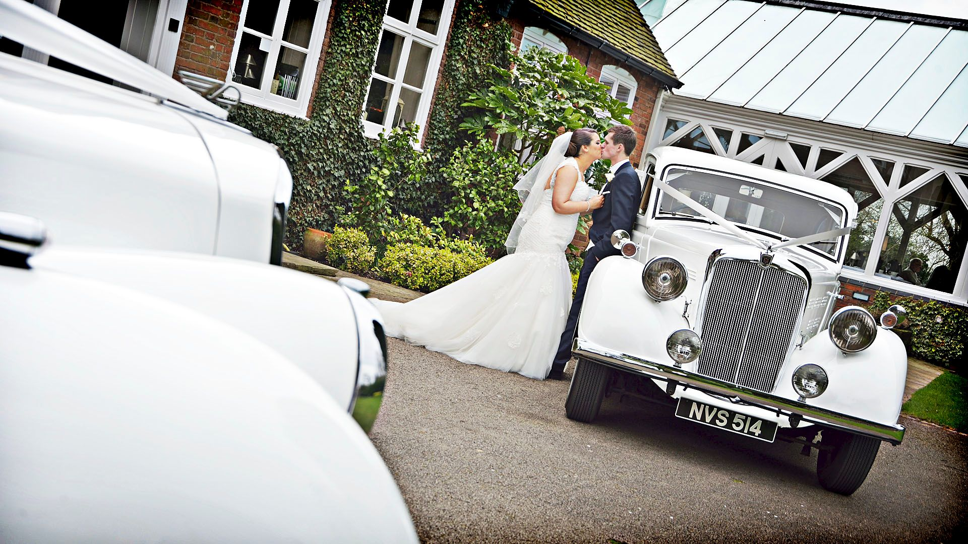 Wedding Photography Staffordshire, The Moat House Weddings, Platinum Cars